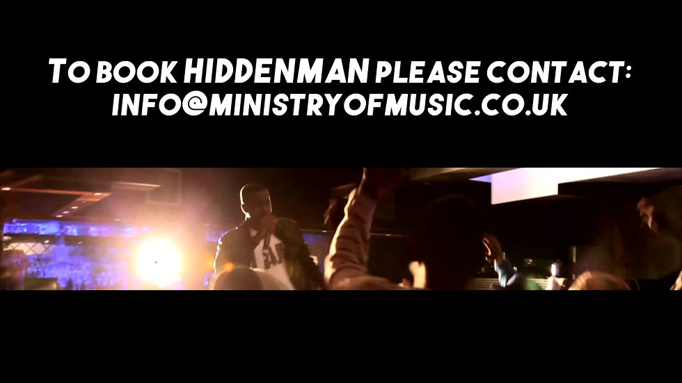 Hiddenman Knife Crime Tour