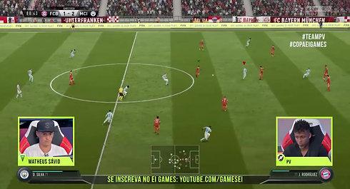 PAULO VITOR (VASCO) X MATHEUS SAVIO (FLAMENGO) - COPA EI GAMES FIFA 18 DE BOLEIROS