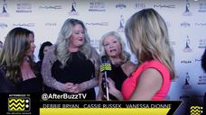 Debbie Bryan, Cassie Russek & Vanessa Dionne @ MUAHS Awards 2016