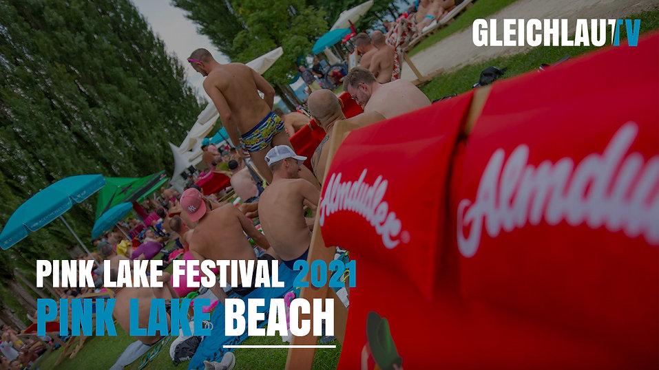 Pink Lake Festival 2021 - Beach Club auf der Blumeninsel