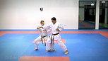 Ippon kumite orange