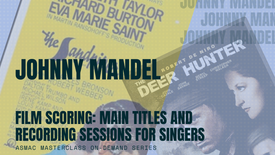 Johnny Mandel - Film Scoring: Main Titles & Recording Sessions for Singers