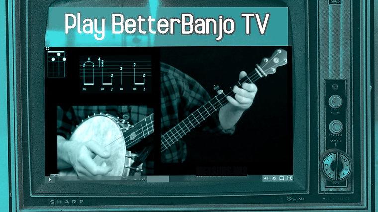 Play Better Banjo Television