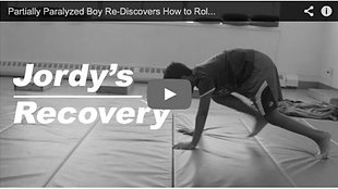 Partially Paralyzed Boy Re-Discovers How to Roll, Crawl and Walk Again Pt.2