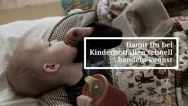 e-Kurs Erste Hilfe bei Baby und Kind