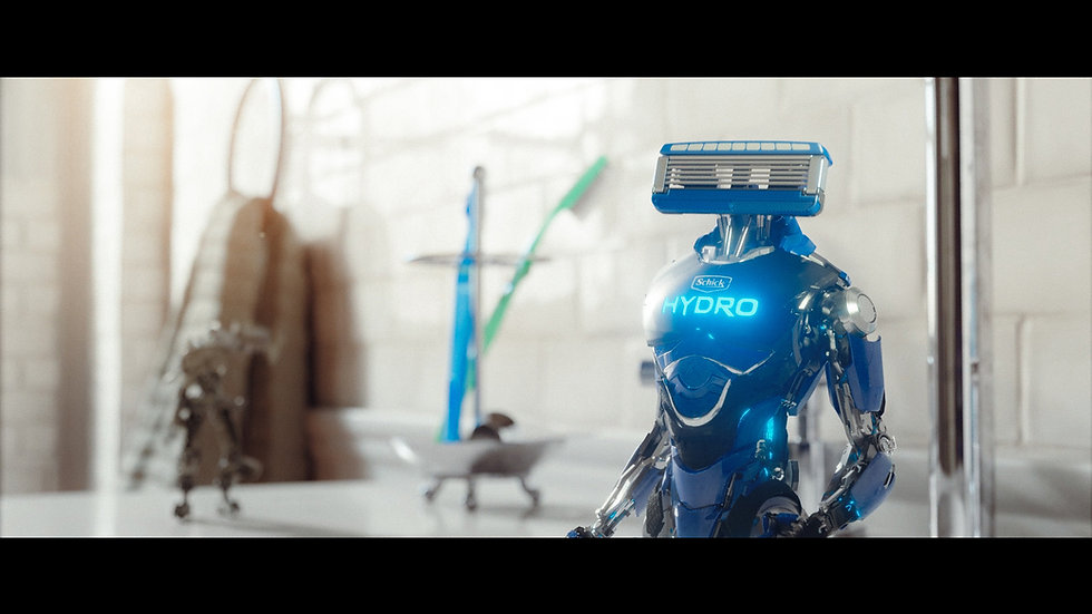 SCHICK HYDRO - SUPER BOWL COMMERCIAL