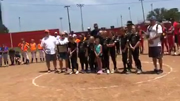 4 The Heroes - Texas Bombers CTX 10U LEE Jersey Ceremony