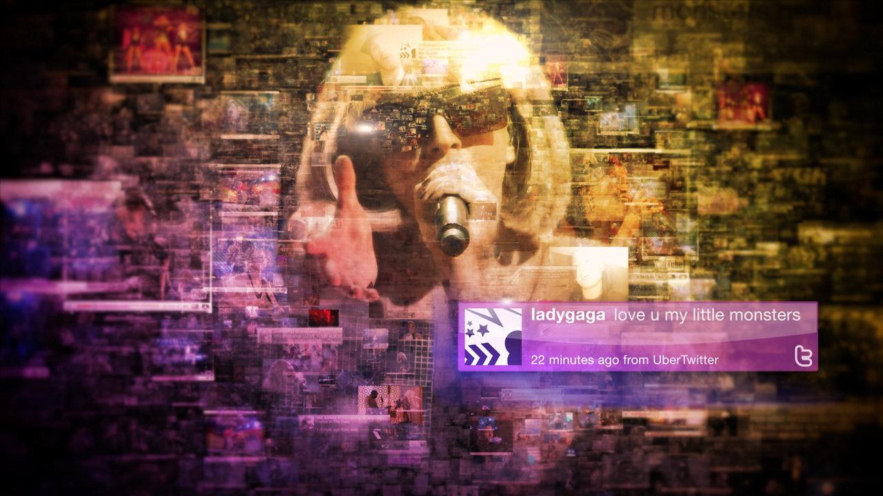 "Chiat Day-LA 52nd Grammy Awards ""We're All Fans"" - Lady Gaga"