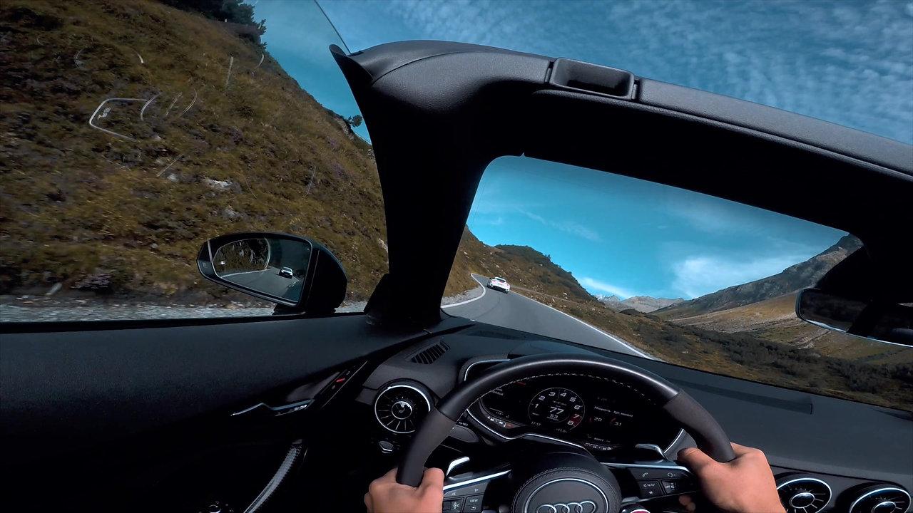 Путешествия на спорткарах в Альпах и Европе
