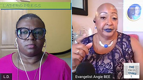 THE PRESS LOUNGE with Evangelist Angie BEE