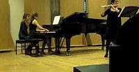 Francis Poulenc Flute Sonata 1st movement Allegretto malincolico_360p