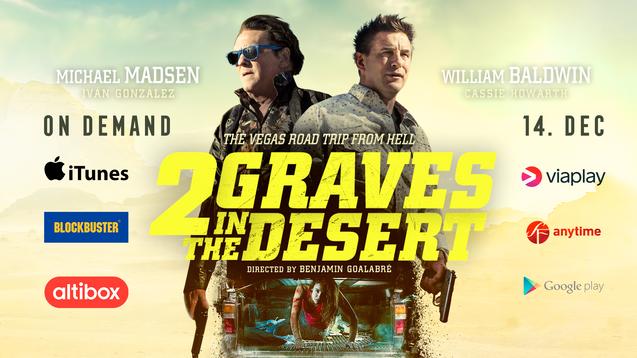 2 Graves in the Desert I VoD Trailer I 14 Dec 2020