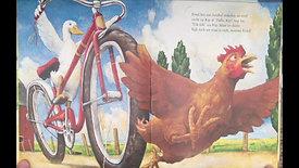 """Pauline leest voor """"Eend op de fiets"""" geschreven door David Shannon"""