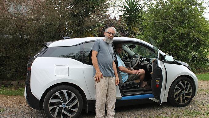 BMW i3 EV experience PlugN Drive Nz