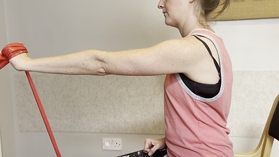 Elbow Extension with Resistance Band