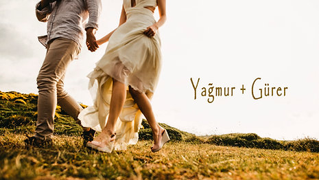 Yağmur + Gürer | Save the date video