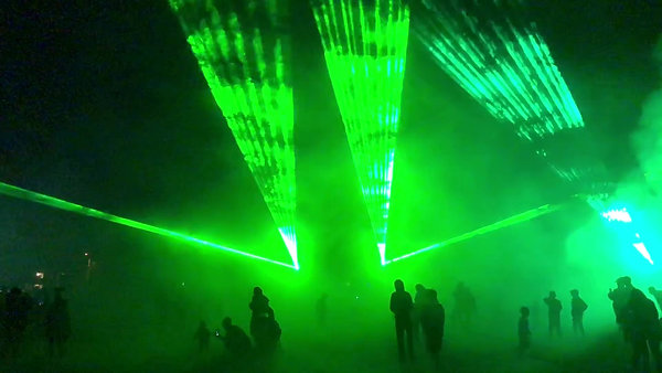 Laser Show at Pembroke Day 2018