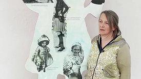 Frauenfigur im Bundeshaus 2021
