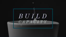 Build more capacity