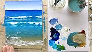 7. Beach Day: Sea Foam