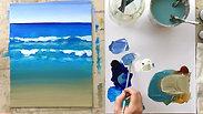 6. Beach Day: Surface Texture