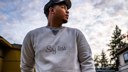 """Mannerarts """"Say Less"""" Sweater Wear"""
