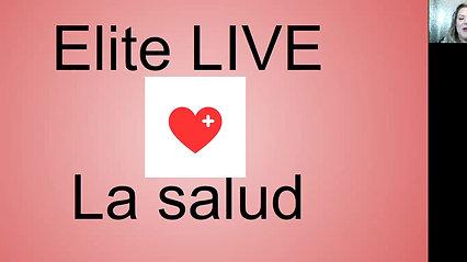Elite LIVE 04/05/2021- La salud