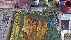 Peinture Intuitive sur Toile