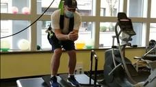 Regaining Balance Skier Style