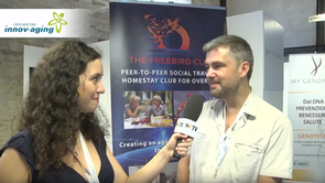 """Freebird Founder interview at """"Innov-Aging"""" expo in Italy"""