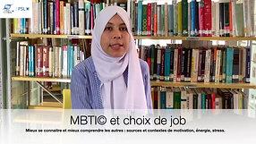 MBTI© et Choix de job