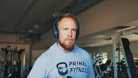 Primal Fitness with sound and titles