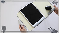Столик для ноутбука Portable Folding Laptop Table Height Adjust Computer Desk Laptop Lap Desk
