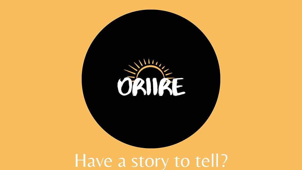 Oriire - Tell a story