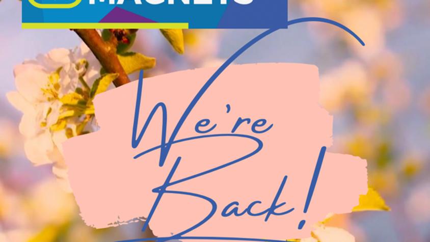 #MoneyMagnetsClub Spring Re-launch