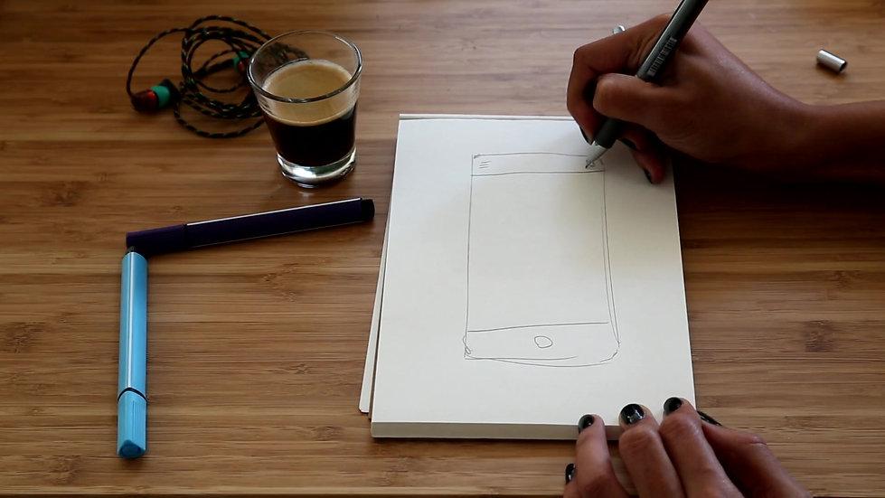 Hand Sketch - Initial Ideas
