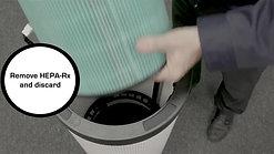 Replacing The HEPA-Rx Filter
