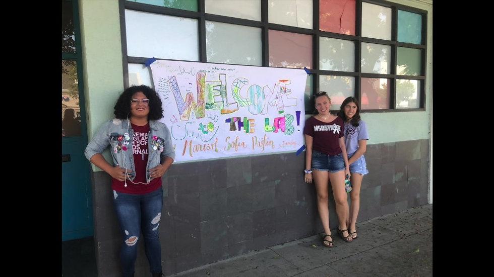 Parkland Teens visit The Lab