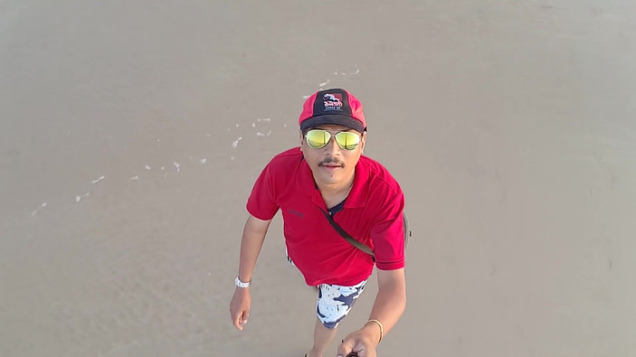 Video taken in Goa