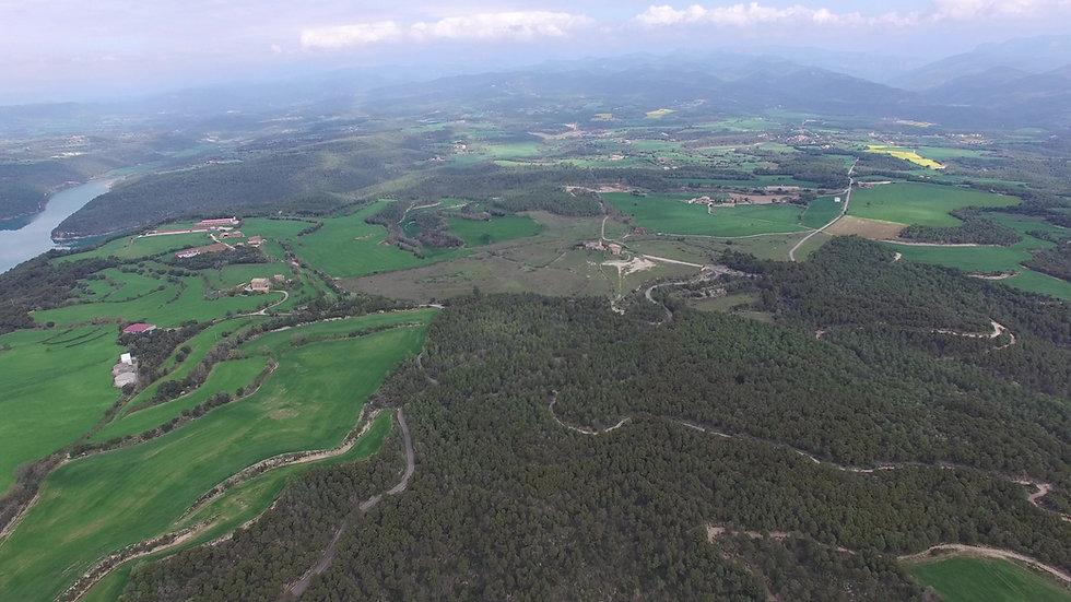 Vista d'0cell de Cal Bernoi