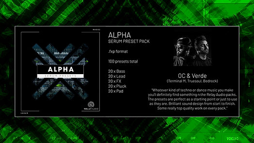 Alpha [Serum Preset Pack]