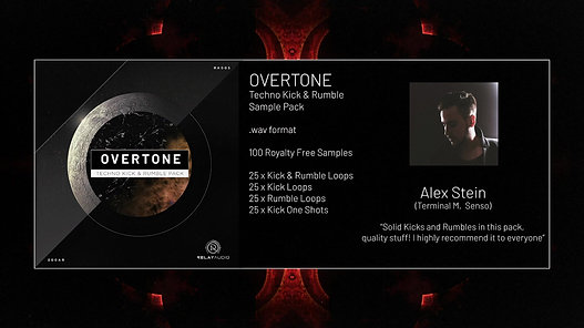 Overtone (Techno Kick & Rumble Sample Pack)