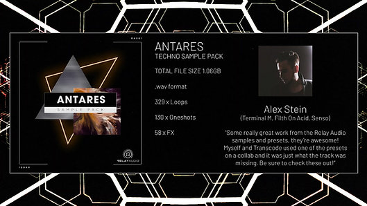 Antares [Techno Sample Pack]