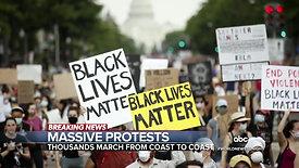 """History is hard work"" -- Peaceful Protestor"