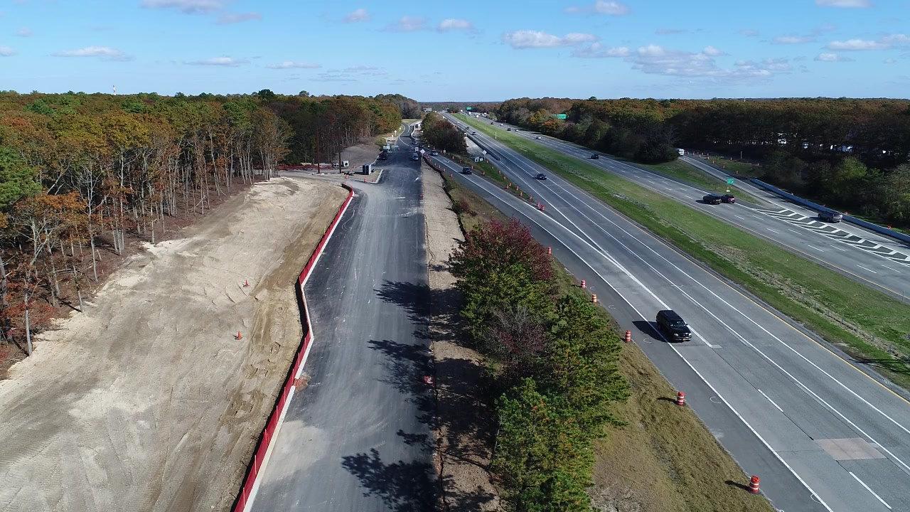 Yaphank Meadows LIE Service Road Improvements
