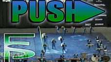 """PUSH"" 2015 WGI Scholastic Percussion A Semi-finals"