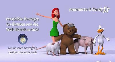 Bewegte Grusskarten Moviepics Animierte E-Cards