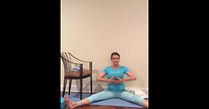 Above Knee Amputee Full Yoga Practice