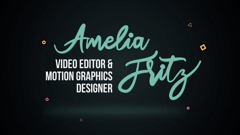 Amelia Fritz - 2020 Demo Reel