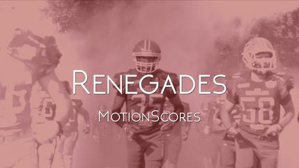Renegades - MotionScores